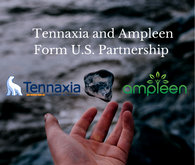 Tennaxia and Ampleen Form U.S. Partnership, Providing Comprehensive Programs for Sustainability Data Collection and Reporting